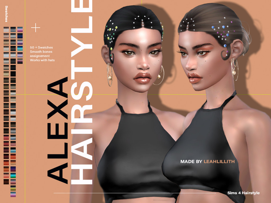 Alexa Hairstyle by Leah Lillith