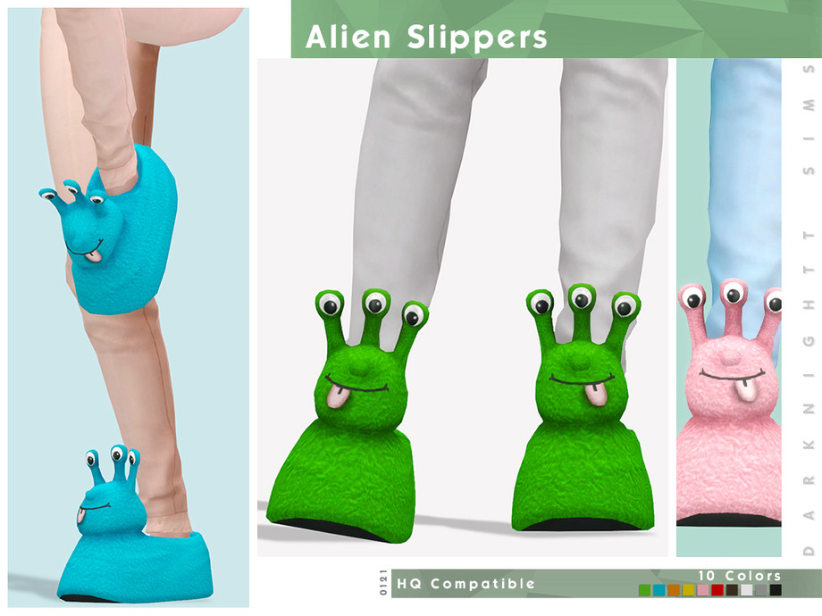 Alien Slippers by DarkNighTt
