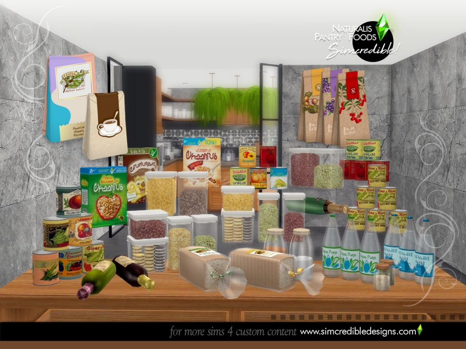 Naturalis Pantry Foods by SIMcredible
