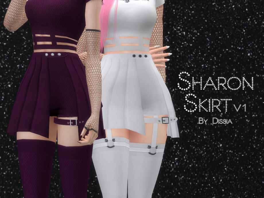 Sharon Skirt v1 by Dissia
