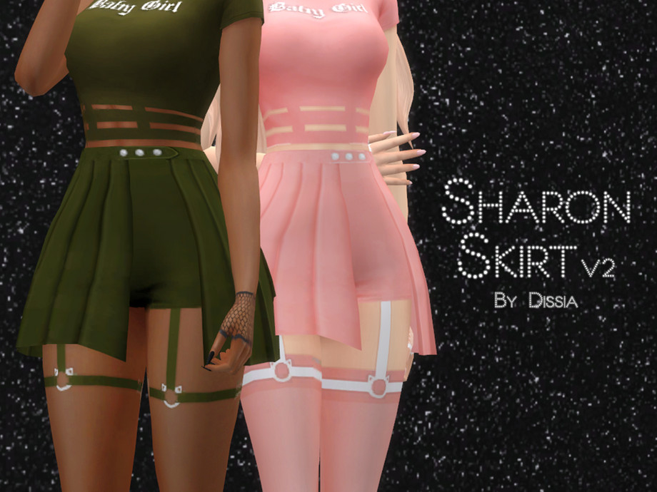 Sharon Skirt v2 by Dissia