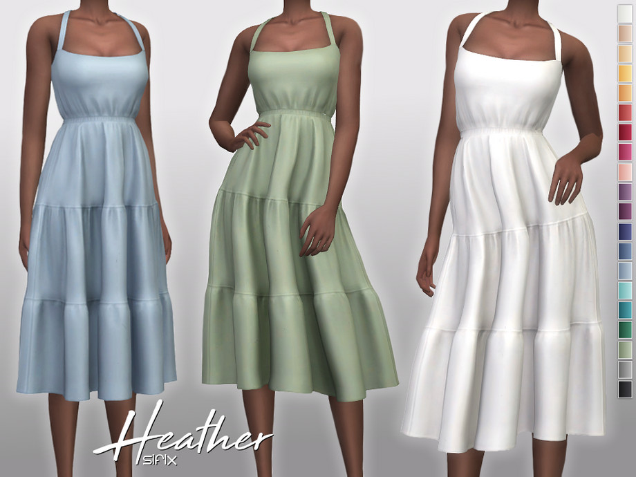 Heather Dress by Sifix