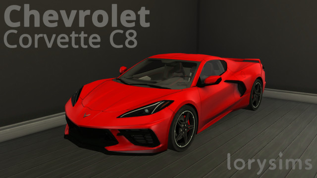 Chevrolet Corvette C8 by LorySims