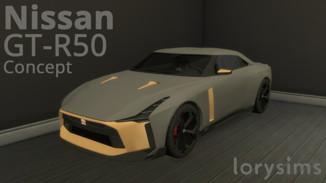 Nissan GT-R50 Concept by LorySims