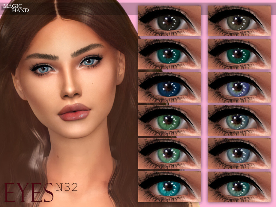 [MH] Eyes N32 by MagicHand