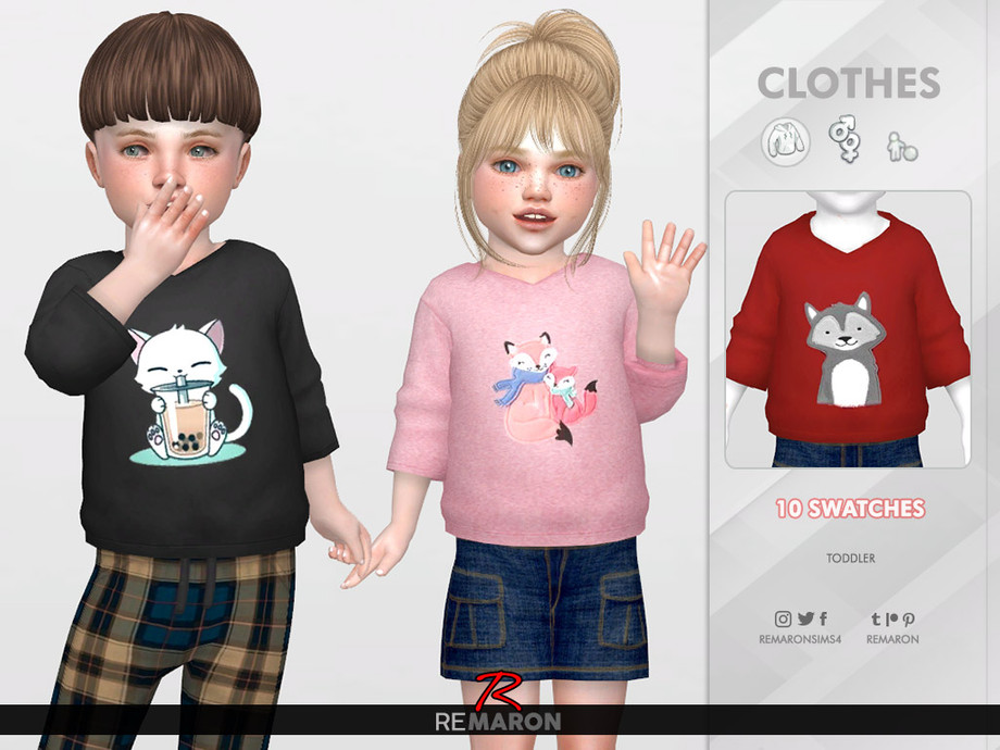 Cute Hoodie for Toddler 01 by remaron