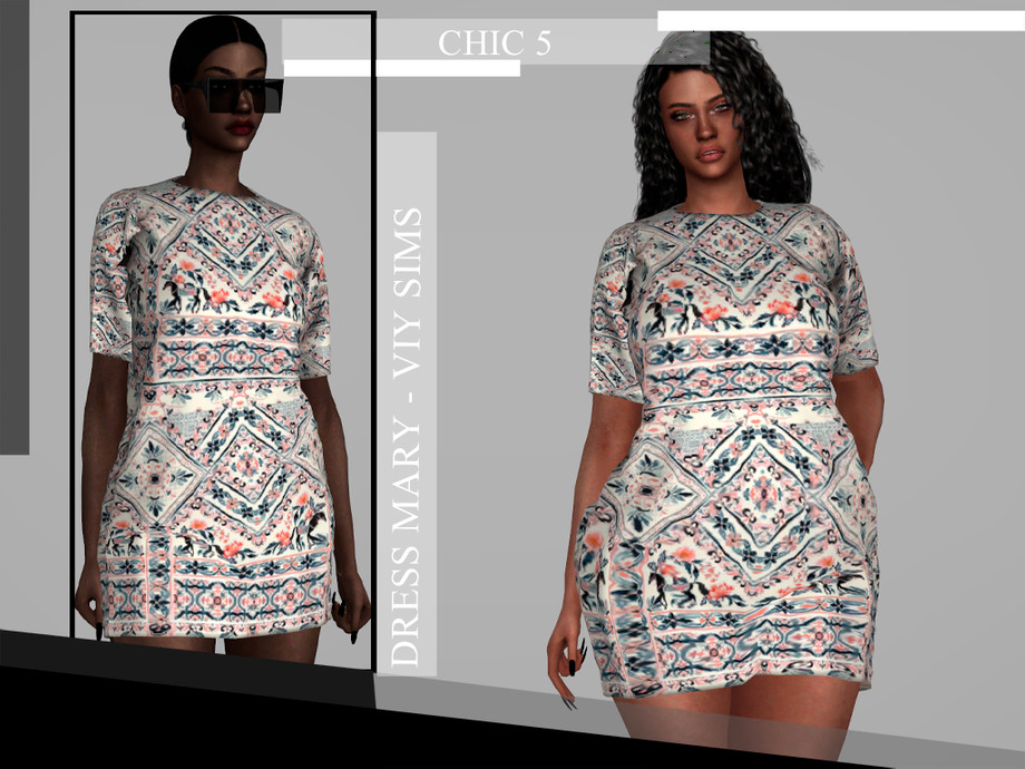 CHIC V - Dress MARRY by Viy Sims