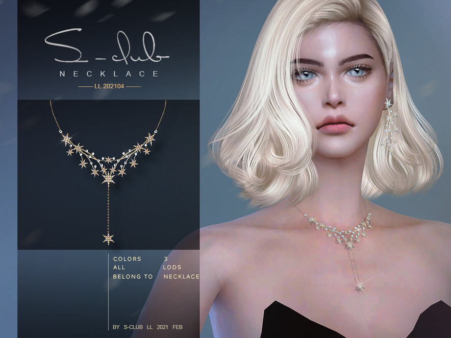 S-Club ts4 LL Necklace 202104