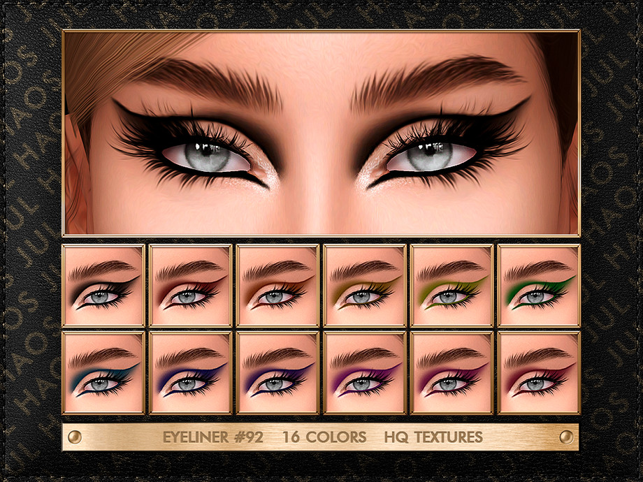 JUL_HAOS [COSMETICS] EYELINER #92