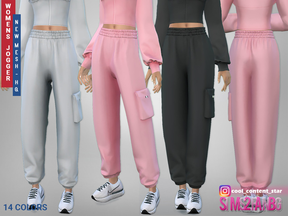 415 - Female Joggers by sims2fanbg