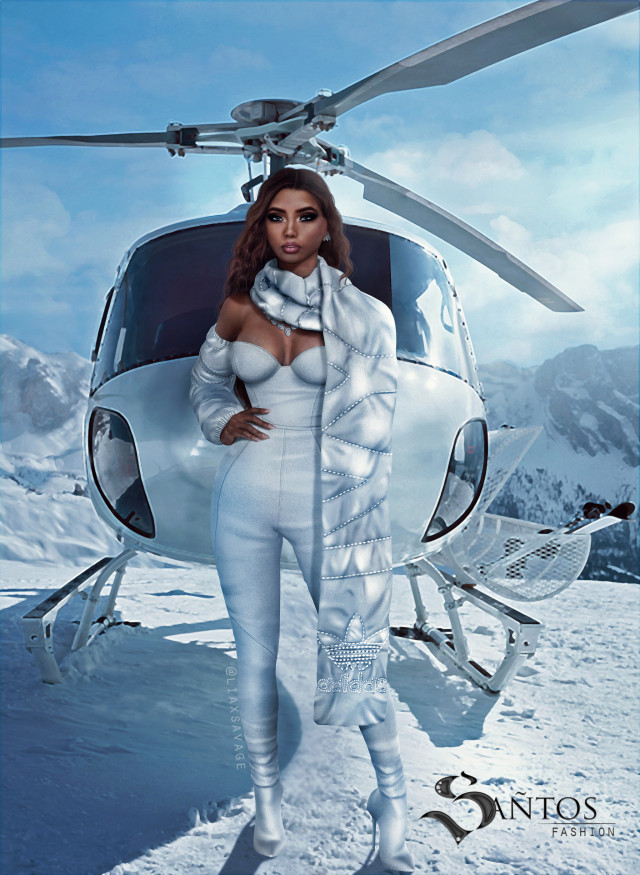 Ivy Icy Park Inspired - Snowy Outfit Set от SantosFashion