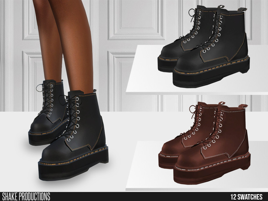 ShakeProductions 633 - Leather Boots