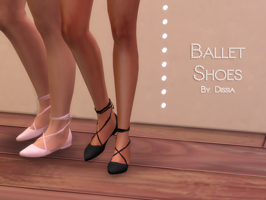 Ballet Shoes by Dissia