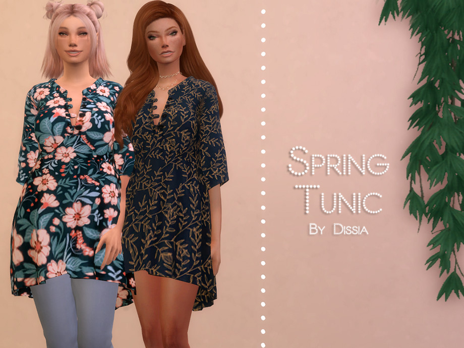 Spring Tunic by Dissia