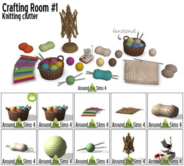 Crafting Room - Knitting by Sandy