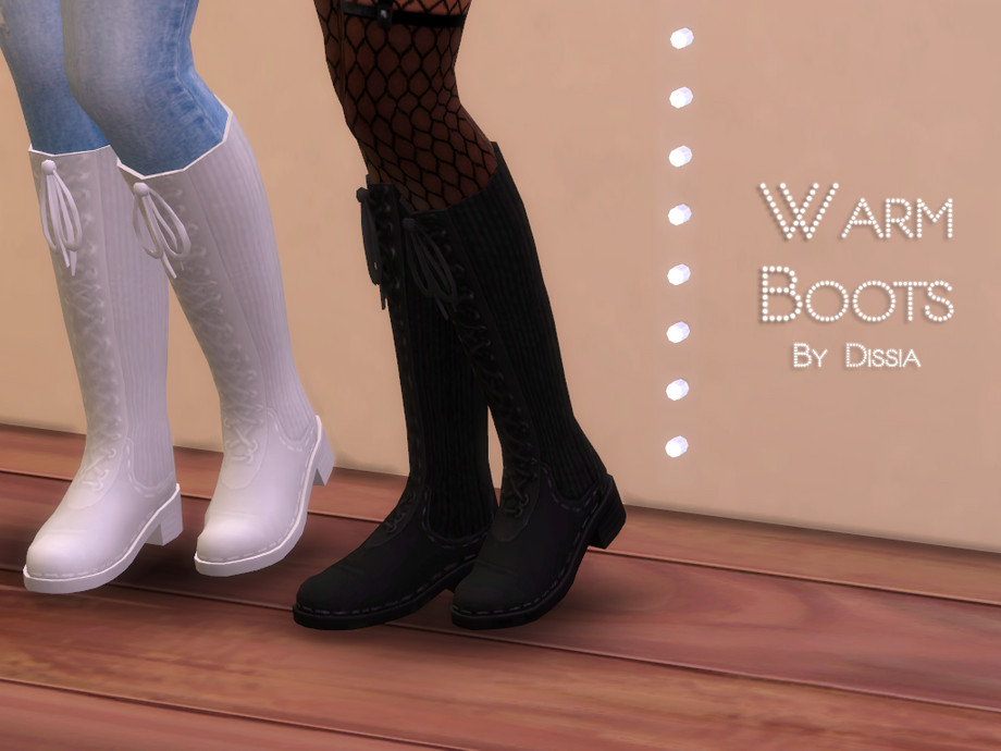 Warm Boots by Dissia