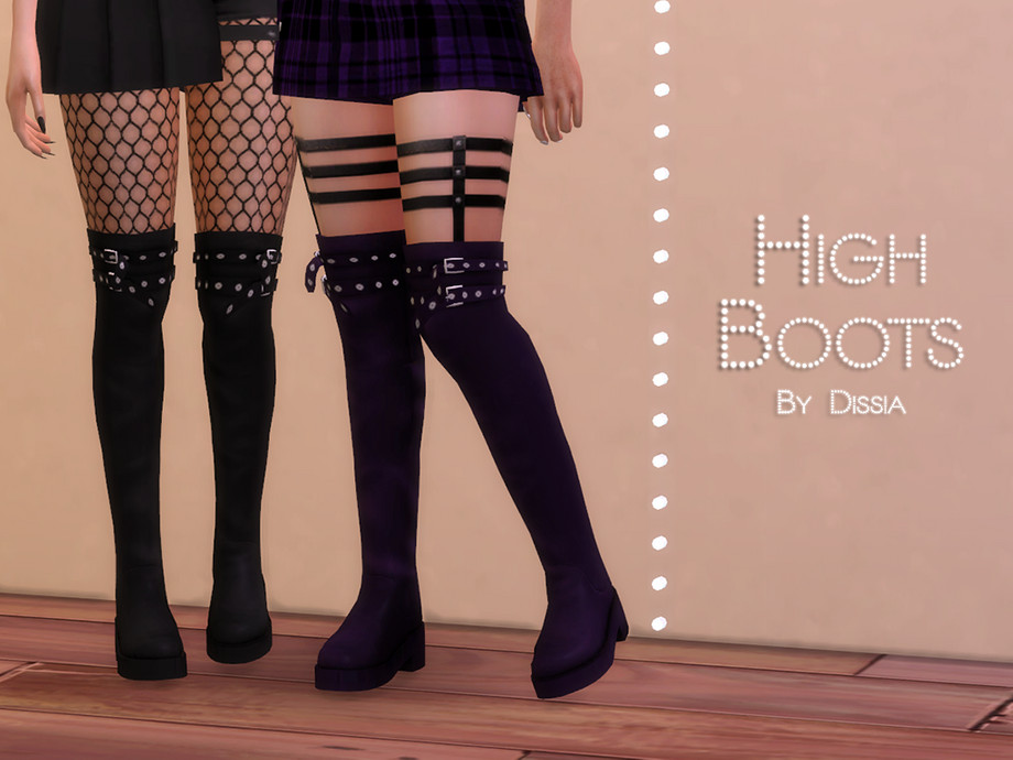 High Boots by Dissia