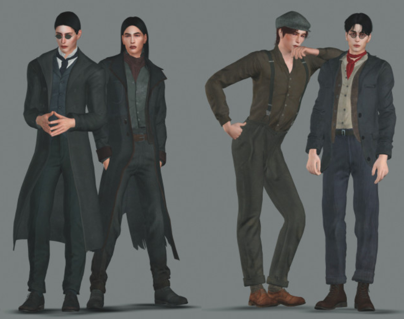 MENS CLOTHING SET FROM VAMPYR от Plazasims