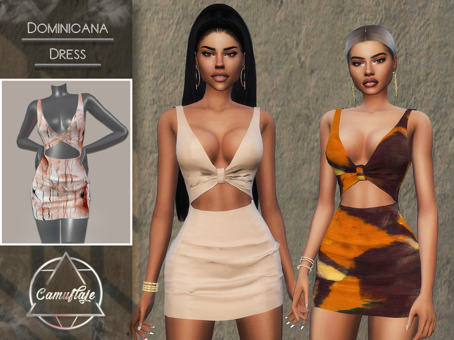 Dominicana (Dress) by Camuflaje