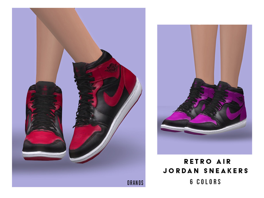 Retro Air Jordan Sneakers (Female) by OranosTR