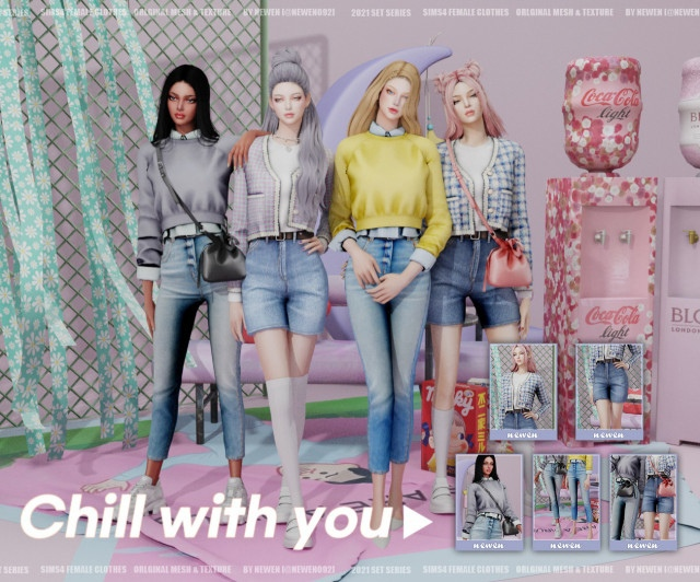 Chill with you - set от Newen