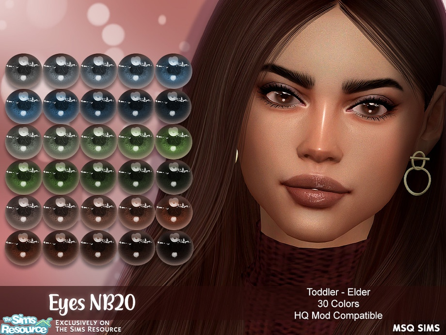 Eyes NB20 by MSQSIMS
