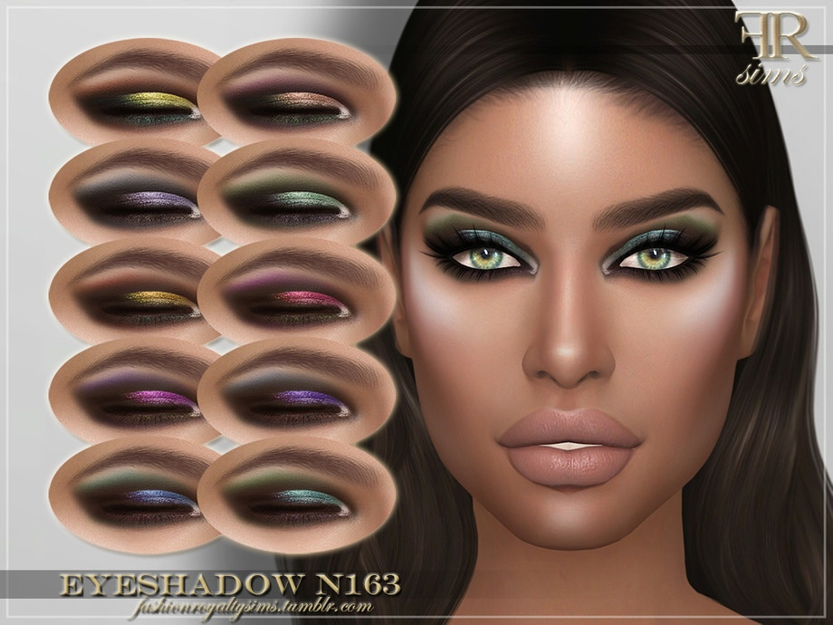 FRS Eyeshadow N163 by FashionRoyaltySims