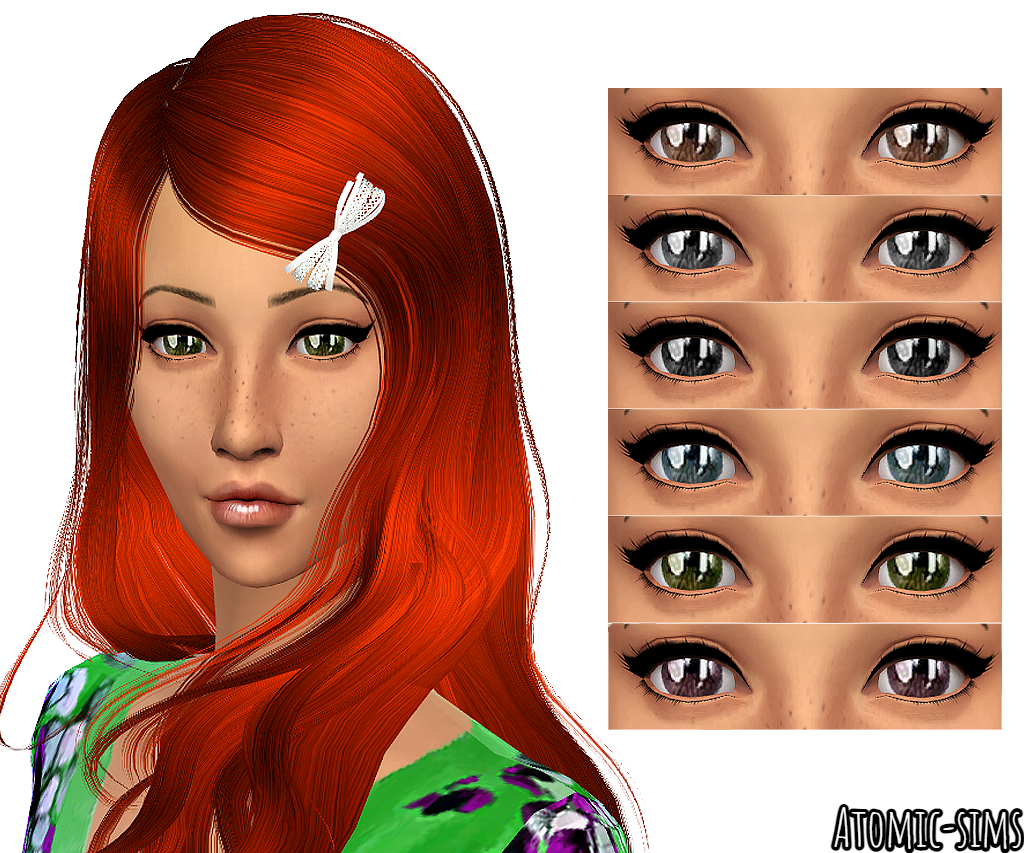 Tifa eyes no. 01 conversion by Atomic-sims